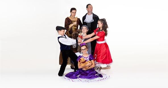 The Fairytale Nutcracker ballet performances by Études de Ballet in Naples, FL